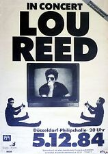 """Lou Reed German 16"""" x 12"""" Photo Repro Concert Poster"""