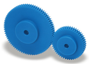 Zahnräder Modul 2.5 Kunststoff 15 bis 100 Zähne - Stirnrad Plastik Nylon Zahnrad