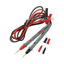 Digital Multimeter Meter Testing 1000V 20A Test Lead Probe Cable Needle Tip USA