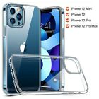 For iPhone 13 Pro 12 11 Pro Max XS SE 2 Slim Silicone Soft Clear TPU Case Cover <br/> For iPhone 13 Pro Max 12 Mini 11 Pro Max XS XR SE 2020