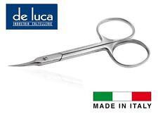 "FORBICE UNGHIE MANICURE PUNTE STRETTE IN ACCIAIO INOX 90 mm ""DE LUCA"" 100% ITALY"