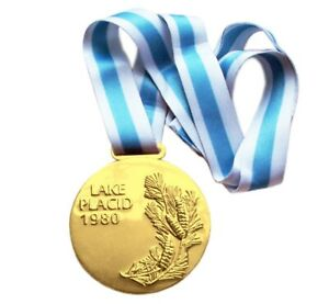 Gold Medal of the XIII Olympic Winter Games in Lake Placid 1980