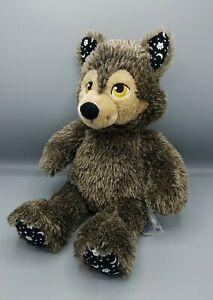 "Rare Build A Bear Werewolf Plush Howl O Ween Paw Moons Stars 17"" Halloween Sound"
