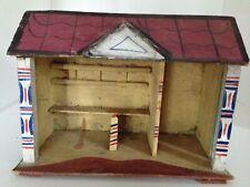 Antique German Christmas Putz Barn