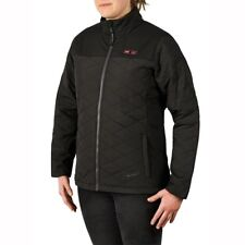 MILWAUKEE Womens Cordless AXIS Black Heated Quilted Jacket XLarge (Jacket Only)