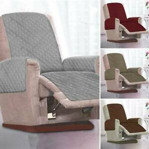 Pet Sofa Protector Covers Waterproof Recliner Chair Couch Strap Quilted Throws