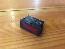 NEW UNUSED RED NEON INDICATOR LAMP C0430FA 220V LIGHT 22000016