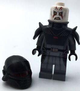 LEGO THE INQUISITOR MINIFIGURE STAR WARS SITH RARE FIGURE