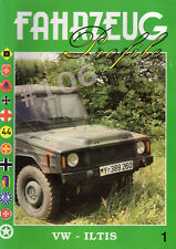 VW ILTIS Fahrzeug Profile No.1  Mainly German Text with some English text - RARE