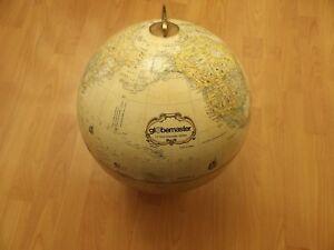 Vintage Replogle Globemaster 12 inch Globe, LeRoy M. Tolman, Chief Cartographer