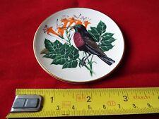 FRANKLIN PORCELAIN SONGBIRDS OF THE WORLD MINI PLATE. #18