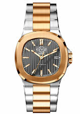 Gv2 By Gevril Men's 18104 Potente Swiss Automatic Two-Tone IP Steel Date Watch