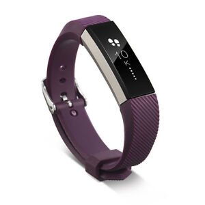 Replacement Wristband Band Silicone Bracelet W/ CLASSIC BUCKLE For Fitbit Alta