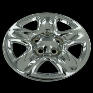 Rav4 Vitara Chrome Full Wheel Skins Cover Replacement Hub Caps