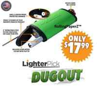 New! GREEN LIGHTERPICK Tobacco Dugout Smoking System - Water Tight & Smell Proof