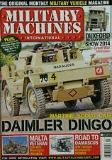 Military Machines Int'l Daimler Dingo Malta Veteran  Sep 2014 FREE SHIPPING
