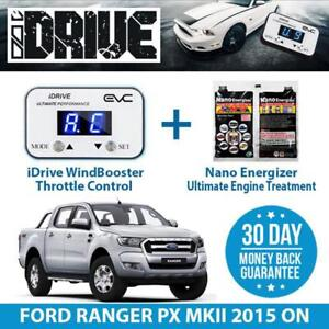 IDRIVE THROTTLE CONTROL FOR FORD RANGER PX MKII 2015 ON + NANO ENERGIZER AIO