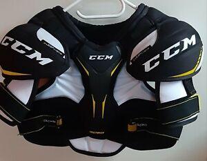 CCM Eishockey🏒🥅 Schulterschutz Brustschutz Tacks 9060 Junior Gr.Large Fast neu