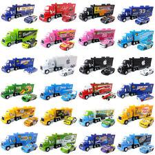 Disney Pixar Cars Mack Молния Маккуин король Джексон шторм гонщик грузовик автомобиль игрушка