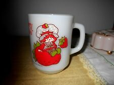 VTG Strawberry Shortcake Anchor Hocking Coffee Mug (Pre-Owned)