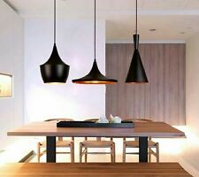 Set de trois Suspensions lampes pendant  design Tom Dixon