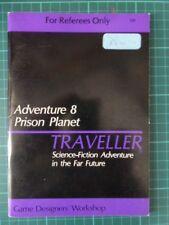 Traveller Adventure 8 Prison Planet Games Designs Workshop GDW