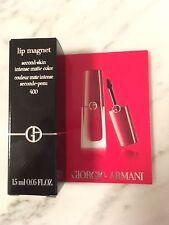 GIORGIO ARMANI lip magnet 400 second skin intense matte color 1,5 ml Probe