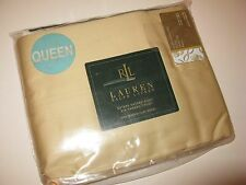 Ralph Lauren Estate Sateen Tuilleries Queen Flat Sheet
