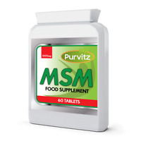 Msm ( Sulphur ) 1000mg Health Supplement Nails Teeth Hair Skin Anti Inflammatory