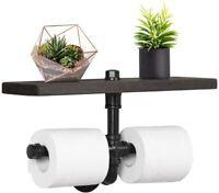 Industrial Toilet Paper Holder Wall Mounted Tissue Roll Storage Holder Dispenser