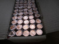 Roll of 2010 Canada Small Cents (Orig. Mint 50 Coins).