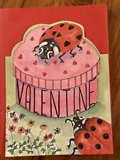 VALENTINES DAY CARDS - 6 PACK W/ RED ENVELOPES 3 DESIGNS 4 X 6 INCHES
