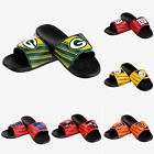 Mens NFL Football Legacy Sport Slide Sandals Flip Flops - Choose Team