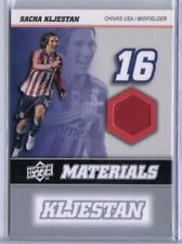 Sacha Kljestan 2008 08 Upper Deck UD MLS Materials Game Used Jersey #MM-29