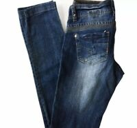 BG Denim Blue Jeans Size 6 Bubblegum Style Straight Leg Stitching Feature