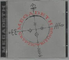 MEGADETH CRYPTIC WRITINGS CD F.C. CAPITOL NUOVO!!!