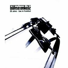 """BÖHSE ONKELZ """"20 JAHRE-LIVE IN FRANKFURT"""" 2DVD+2CDS NEU"""