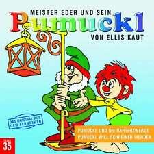 CD * PUMUCKL 35 : UND DIE GARTENZWERGE / WILL SCHREINER WERDEN # NEU OVP !