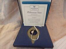 """Wedgwood Millennium Gems Christmas Ornament """"Wisdom"""" In Box"""