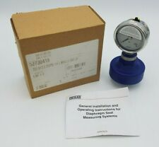 "Wika 233.54 Liquid Filled Pressure Gauge 0-200PSI 2.5"" 1/4 Diaphragm Seal NOS"
