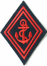 Losange / écusson de bras pour Ténue Uniforme des TROUPES TDM Troupes de Marine