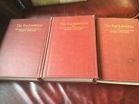 The Sacraments Volumes 1,2,3 Pohle 1915-1918 Deluxe Hardbacks