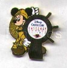 MICKEY Mouse DISNEY CRUISE SHIP's WHEEL DCL CASTAWAY Club Disney GIFT PIN