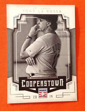 2015 Panini Cooperstown Hall of Fame TONY LA RUSSA Cardinals BASE VARIATION #94