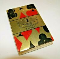 Vintage Sealed Playing Cards Homes Beautiful Construction Co. with Tax Stamp