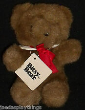 "North American Bear Co BITSY BEAR 6.5"" Small Bear W/ Tag Vtg 1982"