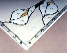 "2 17"" L BLOCKS 16 Pins Morton Layout Blocks Add On LB17 Stained Glass Supplies"