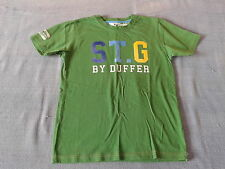 Boys 9-10 Years - Green T-Shirt with Logo - St. George by Duffer