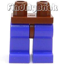 L123A Lego Jango Fett Minifigure - Classic Brown Hips & Violet Legs 7153 NEW