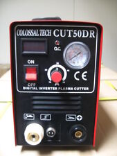 Plasma Cutter CUT50DR Digital New Inverter 110/220V Dual Includes 35 Consumables